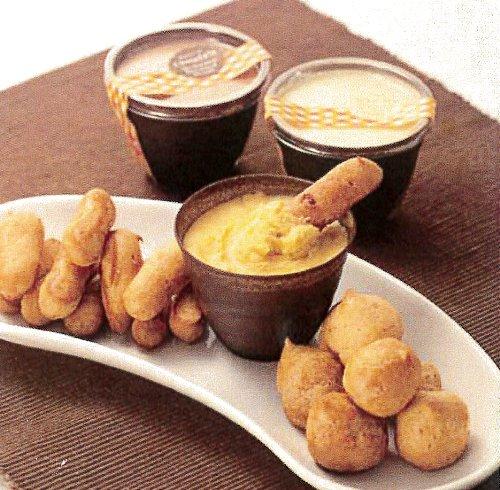 シュークリーム つけて食べる つけるんデシュー 3種のクリーム 2タイプのシューラスク セット ギフト プレゼント パーティー