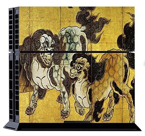 PlayStation4 専用 スキンシール 唐獅子屏風図