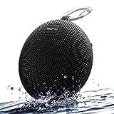 Bluetoothスピーカー、iGOKUポータブルブルートゥース4.1ワイヤレススピーカー、内蔵マイク、マイクロSDスロット、防水IPX5、ビーチ、ホーム、スポーツ用スピーカーiPad / iPhone / Samsung / HuaweiなどのBluetoothデバイス対応 日本語説明書付き (ブラック)