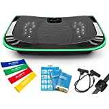 Bluefin Fitness 4D Triple Motor Vibration Platform | Powerful | Magnetic Therapy Massage | 4.0 Bluetooth Speakers | Vibration
