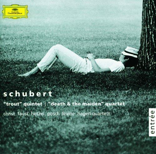 シューベルト:ピアノ五重奏曲《ます》、弦楽四重奏曲第14番《...
