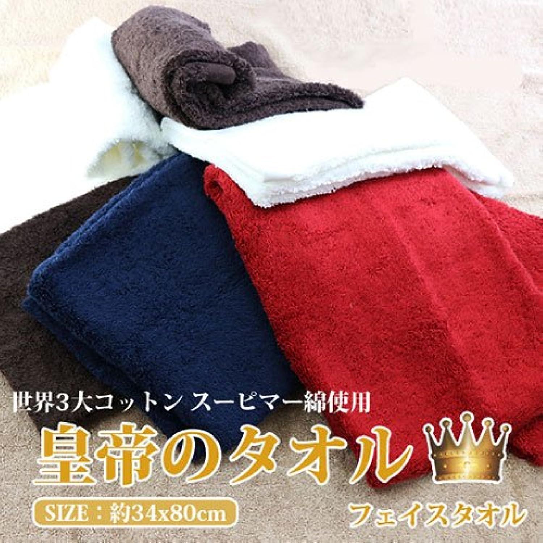 皇帝のタオル/フェイスタオル2枚組5色セット