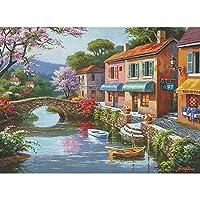 パズル:1000個のキルト村の店。