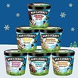 ベン&ジェリーズ アイスクリーム ギフトセット【人工着色料、香料不使用】 (チャンキーセレクション 6個セット)
