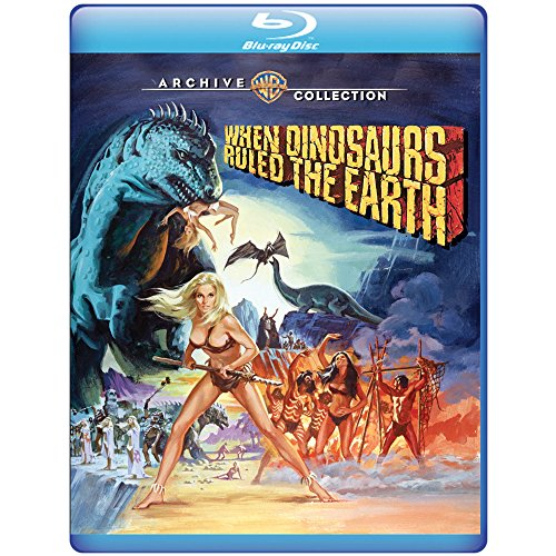 When Dinosaurs Ruled the Earth (1970) [Blu-ray]