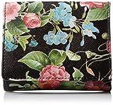 [ポルタフォルトゥ-ナ] 財布 コンパクトタイプ 1611-4588 クロ フラワー×ブラック