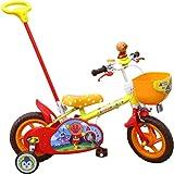 子供用自転車 12インチ アンパンマン 補助輪付 カジキリ機能搭載