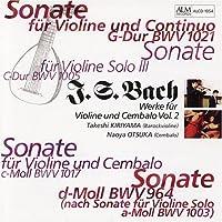 バッハ:ヴァイオリンとチェンバロのための作品集Vol.2