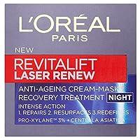L'Oreal Paris Revitalift Laser Renew Night Cream (50ml) パリrevitaliftレーザーはナイトクリームを更新l'オラ?ら( 50ミリリットル) [並行輸入品]
