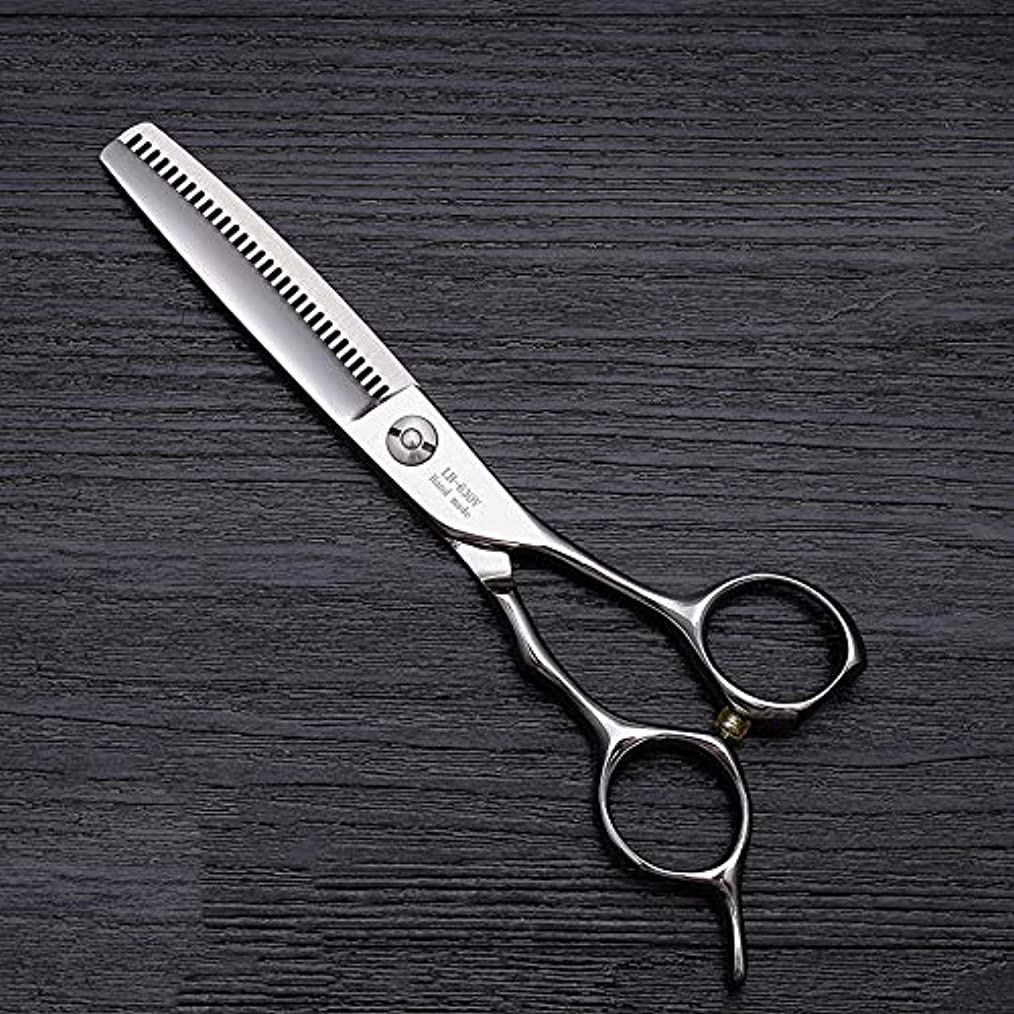 ぼんやりしたプレゼンガチョウ理髪用はさみ 6インチのヘアカットはさみ、ハイエンドの美容院の特別な髪のはさみの毛の切断はさみのステンレス製の理髪師のはさみ (色 : Silver)
