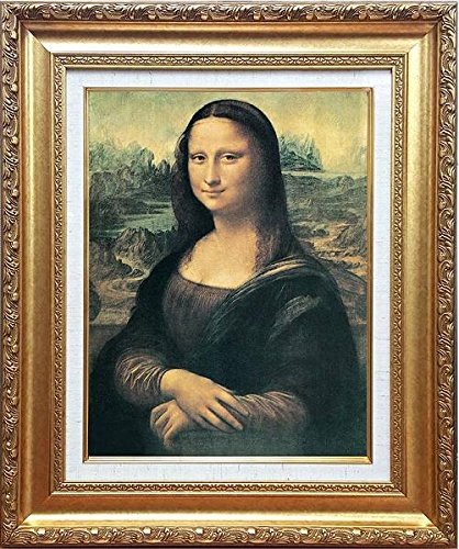 レオナルド・ダ・ヴィンチ[世界の名画コレクション]『モナリザ』複製画 人物画...