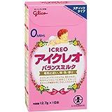 アイクレオ バランスミルク スティック 12.7g×10P 粉ミルク ベビー用【0ヵ月~1歳頃】