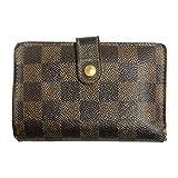 (ルイヴィトン) LOUIS VUITTON 二つ折り財布 ダミエ ヴィエノワ エベヌ N61674