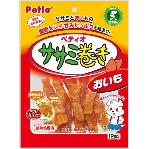 ペティオ ササミ巻き おいも 12個入 ペット用品 犬用食品(フード・おやつ) 犬用おやつ(ジャーキー・乾物) [並行輸入品]