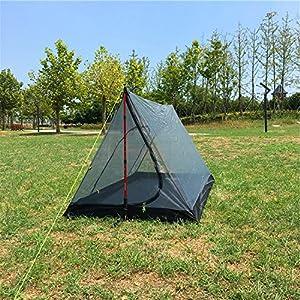 蚊帳(かや)Sanyi 超軽量携帯式テント 蚊除け網 キャンプ/アウトドアに欠かせないモスキートネット (ポールは別売)
