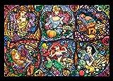 500ピース ジグソーパズル ステンドアート ブリリアントプリンセス ぎゅっとシリーズ(25x36cm)