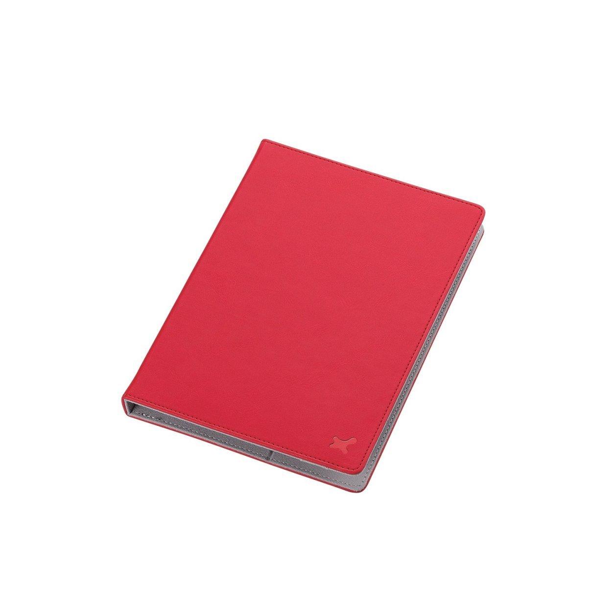 エレコム 7.0〜8.4インチ汎用タブレットケース レザータイプ /レッドTB-08LCHRD1個