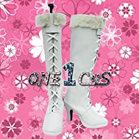 【サイズ選択可】コスプレ靴 ブーツ 12L1096 ワンピース ONE PIECE ニコ・ロビン 男性25.5CM