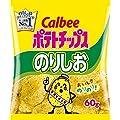 カルビー ポテトチップス のりしお 60g × 12袋