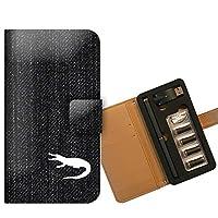 プルームテック ケース PloomTECH 手帳型 シルエット B002301_01 シルエット 影 シャドー ワニ