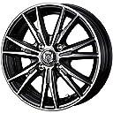 【適合車種:ホンダ N ONE(JG系 ターボ車)2012~ サマータイヤセット】 TOYO トランパス LUK 165/55R15 夏用タイヤとホイールの4本セット アルミホイール:WEDS ライツレー DK_ブラックメタリックポリッシュ 4.5-15 4/100 (15インチ サマータイヤセット)
