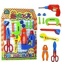 RaiFu ままごとおもちゃ  子どもたちのため シミュレーション修復ツールキットおもちゃ リトルエンジニアおもちゃ 子供 教育 誕生日、クリスマス ギフト ロール プレイふり