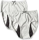 (アツギ)ATSUGI サニタリーショーツ 1 week Sanitary shorts 多い日長時間 【カジュアルスタイル】 ナイトシート 〈2枚セット〉 LL 3Lサイズ グレー 3L