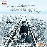 サロメ・カンマー:ヴァイル&アイスラーを歌う(Salome Kammer - I'm a Stranger Here Myself) 画像