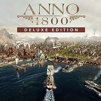 ANNO 1800 デラックスエディション オンラインコード版