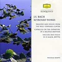 Bach J.S: Keyboard Works by WILHELM KEMPFF (2007-07-26)