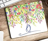 Personalized mouse pad letter Q monogram - Pretty Mousepad Computer Accessories Home Office Space Cubicle Decor - Gift for co-worker [並行輸入品]