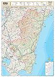 スクリーンマップ 分県地図 宮崎県 (分県地図 45)