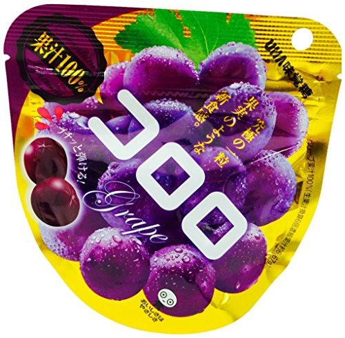 味覚糖   コロロ グレープ  40G×6袋