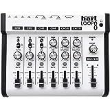 Maker hart Loop Mixer 8 Bluetoothオーディオ入力対応/ステレオ8入力/2出力音声ミキサー/レコードプレーヤー/ターンテーブルを接続できる