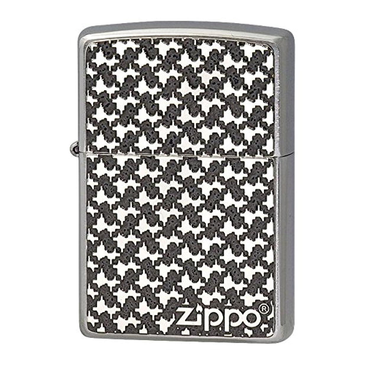 理論的入力拡張Zippo ジッポー Zippoライター ジッポライター オイルライター 200 フラットボトム メタルペイントプレート パターン 2MPP-Pattern(GY)