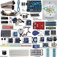 SunFounder RFID Starter Kit for Arduino Uno R3 Mega Nano Circuit Board スターターキット メガナノ基板用ジャンパーワイヤーセンサー用 ブレッドボード エレクトロニクスV2.0 [並行輸入品]