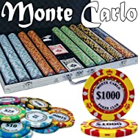 Brybelly Holdings pcs-2606 pre-pack – 1000 Ct Monte Carloチップセットアルミケース