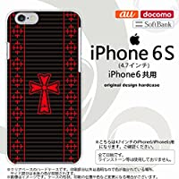 iPhone6/iPhone6s スマホケース カバー アイフォン6/6s ゴシック 黒×赤 nk-iphone6-1010