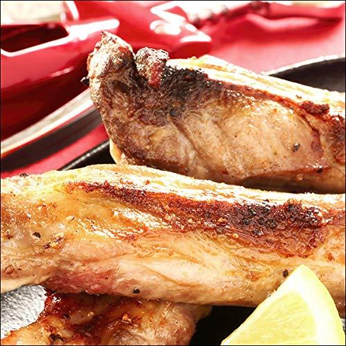 ラム肉 骨付きラム肉 スペアリブ (1袋 約300g 6本入り×4P/冷凍) 業務用 羊肉 BBQ 北海道
