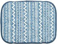 ケーアイジャパン 枕パッド オルテガBL 60×45cm 夏用 ひんやり サラサラ 接触冷感