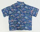 【レインスプーナー ART OF EDDY Y BY REYN SPOONER】 古着アロハシャツ XLサイズ ウッディ・ワゴン サーフィン ハワイ