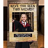 LaVenty Have You Seen This Wizard Photo Booth Prop Wizard Inspired Photo Booth Frame Wizard Birthday Party Photo Booth Props