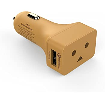 cheero DANBOARD CAR CHARGER 【Quick Charge 3.0対応】 カーチャージャー 2ポート 28W DC12V/24V対応 (Original color)
