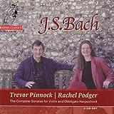 Bach: Complete Sonatas for Violin and Obbligato Harpsichord (2001-01-09)