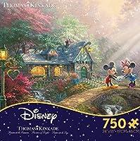 Disney(ディズニー) ミッキーマウス ジグソーパズル トーマスキンケード [並行輸入品]