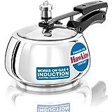 Hawkins SSC20 stainless steel pressure cooker, Silver 2 Liter