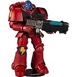 """McFarlane Toys Warhammer 40,000 Blood AngelPrimarisSpace MarineHellblaster7"""" Action Figure"""