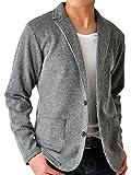 メンズ ブレザー (アローナ) ARONA テーラードジャケット メンズ ジャケット ストレッチ シャドーストライプ/Y