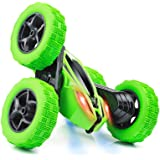 Remote Control Car, RC Stunt Car, 360 Degree Flips Double Sided Rotating Tumbling High Speed 15km/h and 2.4GHz Remote Control
