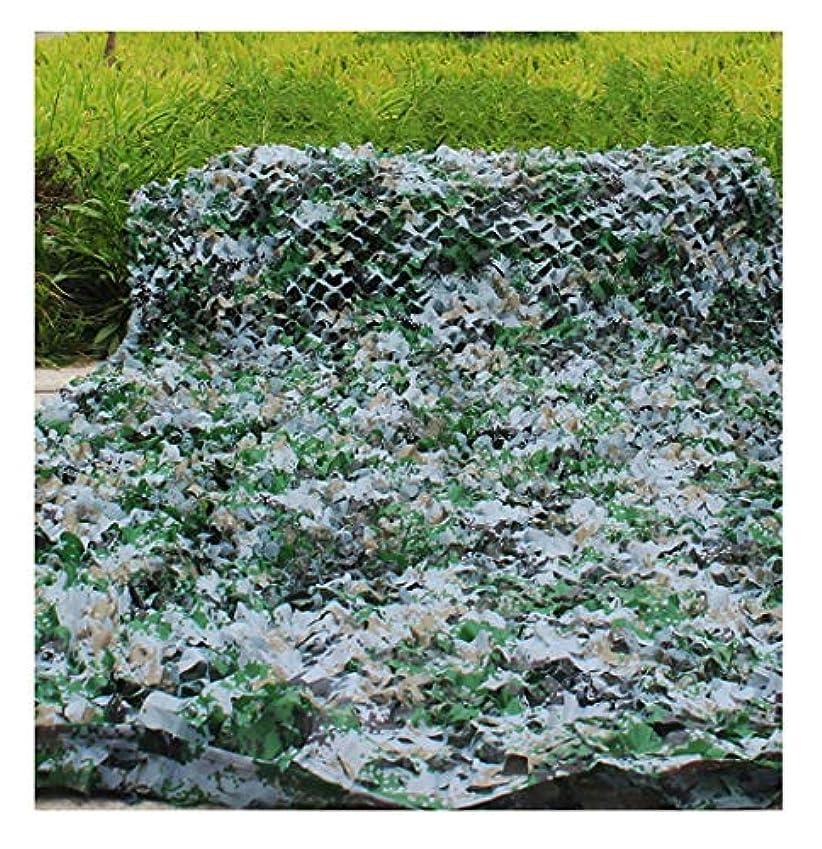 成功アブストラクト酸化する遮光ネット迷彩ネット カモフラージュネットオックスフォード布/狩猟射撃隠しキャンプ軍用野外狩猟 屋外の日陰の庭に適しています (Size : 3*4m)